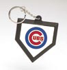 HOME PLATE KEY CHAIN